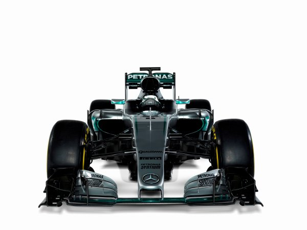 Mercedes F1 W07 Hybrid Studio Images. Friday 19 February 2016. Photo: Mercedes-Benz F1 (Copyright Free FOR EDITORIAL USE ONLY) ref: Digital Image F1_W07_Hybrid_01