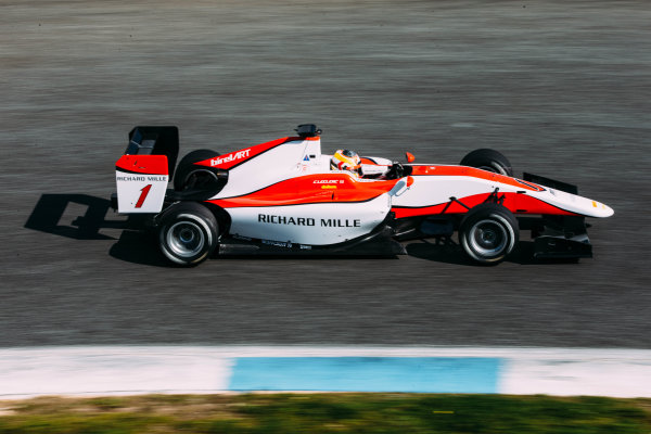 2016 GP3 Series Testing. Estoril, Portugal. Wednesday 23 March 2016. Charles Leclerc (MON) ART Grand Prix   World Copyright: Malcolm Griffiths/LAT Photographic. ref: Digital Image F80P2404