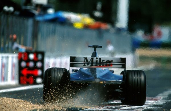 Mika Hakkinen(FIN) McLaren Mercedes MP4/16 had another Grand Prix to forget