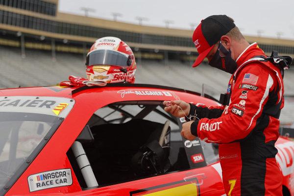 Justin Allgaier, JR Motorsports Chevrolet BRANDT, Copyright: Chris Graythen/Getty Images.