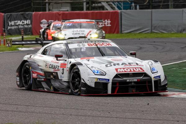 Kohei Hirate & Katsumasa Chiyo, NDDP Racing with B-Max, Nissan GT-R Nismo GT500, 2nd in GT500