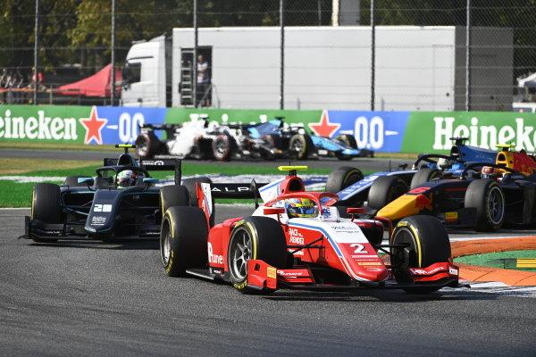 Oscar Piastri (AUS, Prema Racing) Alessio Deledda (ITA, HWA Racelab)