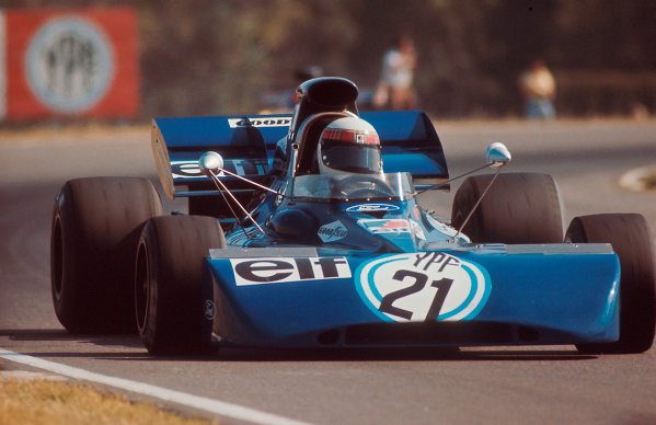 1972 Argentinian Grand Prix.Buenos Aires, Argentina. 21-23 January 1972.Jackie Stewart (Tyrrell 003 Ford) 1st position. Ref-72 ARG 82.World Copyright - LAT Photographic