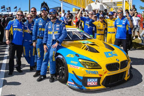#96 Turner Motorsport BMW M6 GT3, GTD: Bill Auberlen, Robby Foley, crew