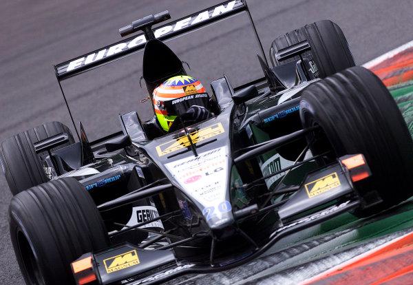 2001 Italian Grand Prix - PracticeMonza, Italy. 14th Spetember 2001.Alex Yoong, European Minardi PS01, action.World Copyright: Steve Etherington/ LAT Photographicref: 17 5mb Digital Image
