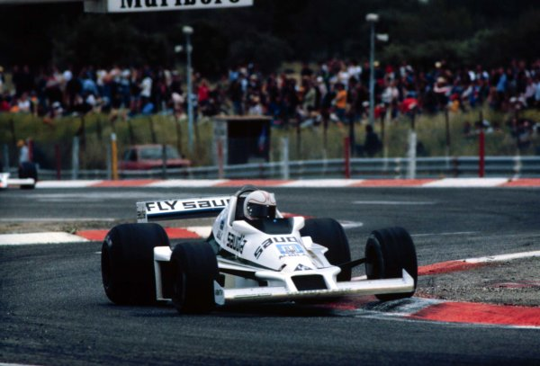 1978 French Grand Prix.Paul Ricard, Le Catellet, France.30/6-2/7 1978.Alan Jones (Williams FW06 Ford) 5th position.World Copyright - LAT Photographic