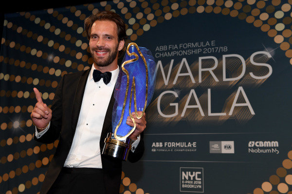 Jean-Eric Vergne (FRA), TECHEETAH, Renault, at the Awards Gala.