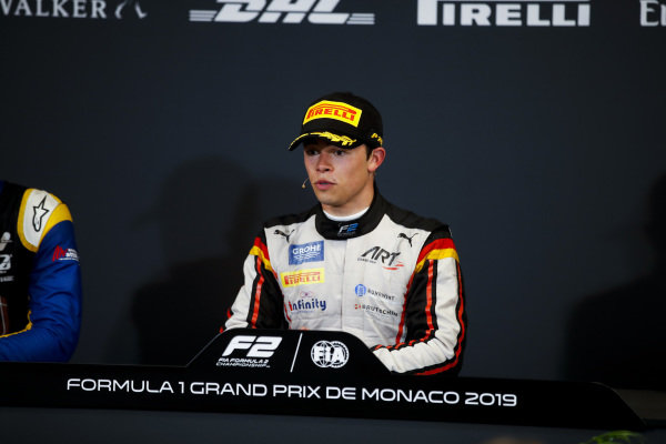 Race Winner Nyck De Vries (NLD, ART GRAND PRIX) in the press conference