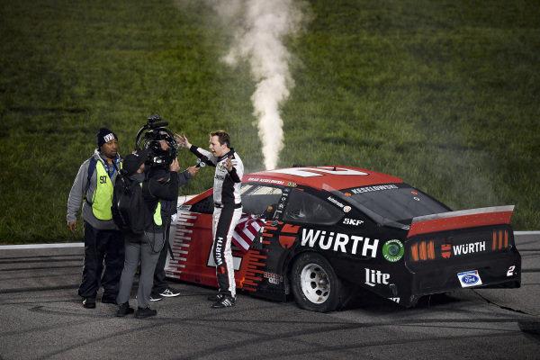 #2: Brad Keselowski, Team Penske, Ford Mustang Wurth wins the Digital Ally 400