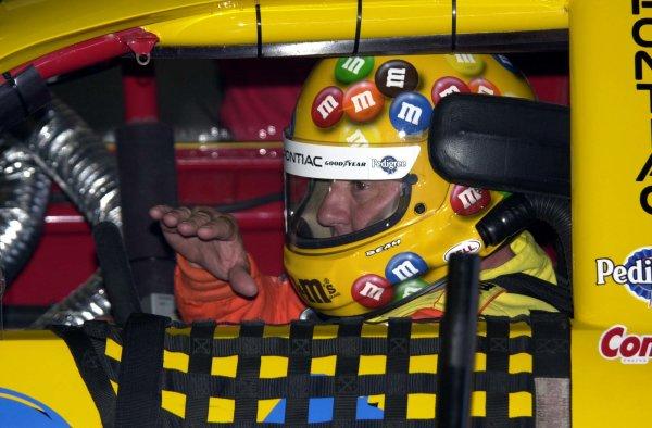 2001 NASCAR Michigan June 10 2001 USAKen Schrader,-Robert LeSieur 2001LAT Photographic