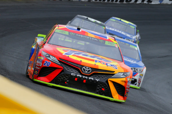 Monster Energy NASCAR Cup Series Bank of America 500 Charlotte Motor Speedway, Concord, NC Sunday 8 October 2017 Matt Kenseth, Joe Gibbs Racing, Tide Pods Toyota Camry and Jamie McMurray, Chip Ganassi Racing, Sherwin-Williams Chevrolet SS World Copyright: Russell LaBounty LAT Images