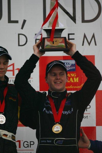 10.12 2006 Citeureup, Bogor, Indonesia, Jonny Reid, Driver of A1Team New Zealand - A1GP World Cup of Motorsport 2006/07, Round 5, Sentul, Sunday Race 2 - Copyright A1GP - Free for editorial usage