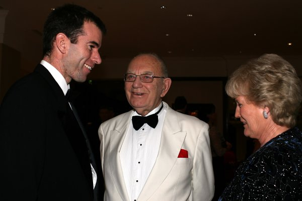 2006 Autosport AwardsGrosvenor House Hotel, London. 3rd December 2006.Ralph Firman and Tom Wheatcroft. Portrait.World Copyright: Peter Spinney/LAT Photographicref: Digital Image RK4O2600