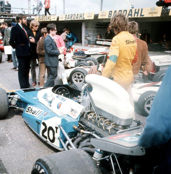 Zandvoort, Holland.18-20 June 1971.Chris Amon (Matra-Simca MS120B).Ref-3/4774A.World Copyright - LAT Photographic