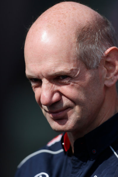 Nurburgring, Germany 6th July 2013 Adrian Newey, Chief Technical Officer, Red Bull Racing World Copyright: Charles Coates/  ref: Digital Image _N7T1161