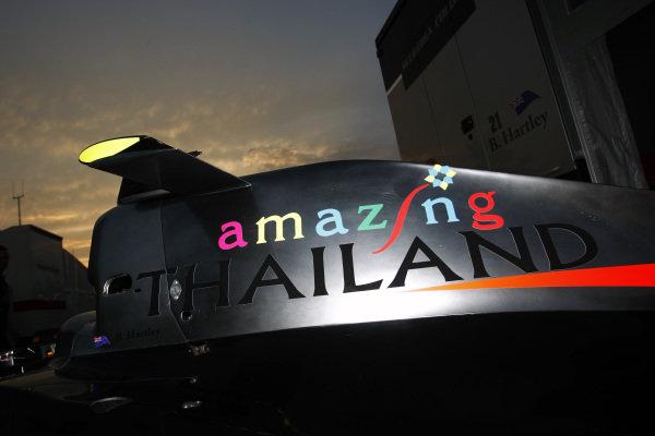 Brendon Hartley (NZL) Scuderia Coloni.GP2 Series, Rd9, Monza, Italy, Thursday 9 September 2010.