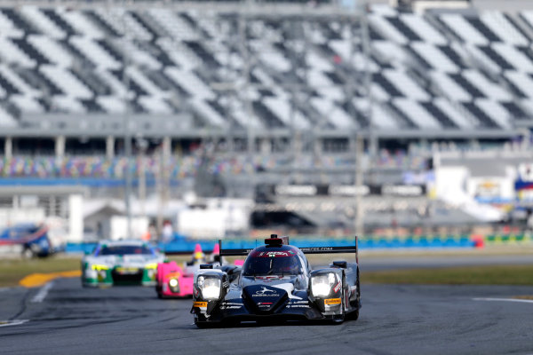 2017 Rolex 24 Hours. Daytona, Florida, USA Friday 27 January 2017. #13 Rebellion Racing ORECA 07: Neel Jani, S?bastien Buemi, St?phane Sarrazin, Nick Heidfeld World Copyright: Alexander Trienitz/LAT Images ref: Digital Image 2017-24h-Daytona-AT1-1483