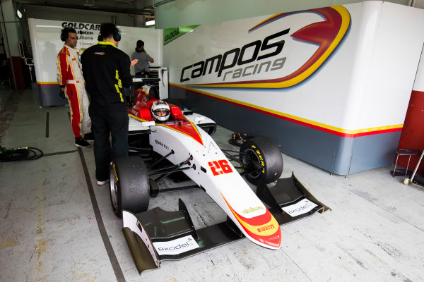 2016 GP3 Series Test 3. Circuit Ricardo Tormo, Valencia, Spain. Wednesday 26 April 2017. Julien Falchero (FRA, Campos Racing)  Photo: Sam Bloxham/GP3 Series Media Service. ref: Digital Image _J6I3618
