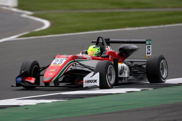 2017 FIA Formula 3 European Championship. Round 1 - Silverstone, UK. Thursday 13 April 2017. Mick Schumacher, Prema Powerteam, Dallara F317 - Mercedes-Benz World Copyright: Ebrey/LAT Images ref: Digital Image SMM_8808