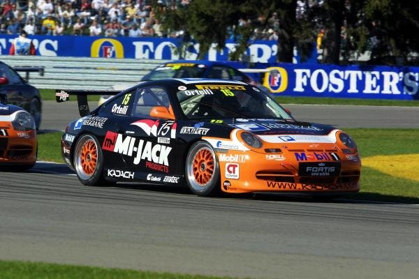 Stephane Ortelli (MON) finished 3rdPorsche Supercup, Indianapolis, USA, 30 September 2001