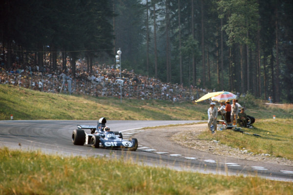 1973 Austrian Grand Prix.  Osterreichring, Austria. 17-19th August 1973.  Jackie Stewart, Tyrrell 006 Ford, 2nd position.  Ref: 73AUT13. World Copyright: LAT Photographic