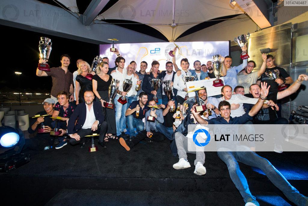 2016 GP2/3 Awards Evening. Yas Marina Circuit, Abu Dhabi, United Arab Emirates. Sunday 27 November 2016.  Photo: Sam Bloxham/GP2 Series Media Service/GP3 Series Media Service. ref: Digital Image _SLA9909