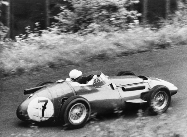 Nurburgring, Germany. 5th August 1956.