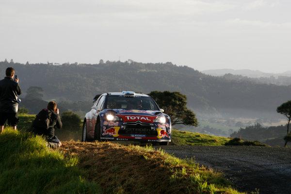 Round 7, Rally New Zealand, 21st-24th June 2012 Mikko Hirvonen, Citroen, Action. Worldwide Copyright: McKlein/LAT Photographic.