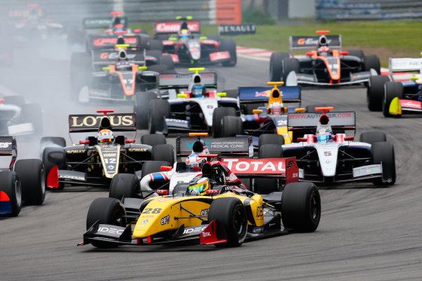 NURBURG (GER) JUN 29- JUL 1 2012 - Third round of the World series by Renault 2012 at the Nurburgring. Arthur Pic #28 Dams. Action. © 2012 Diederik van der Laan / Dutch Photo Agency / LAT Photographic