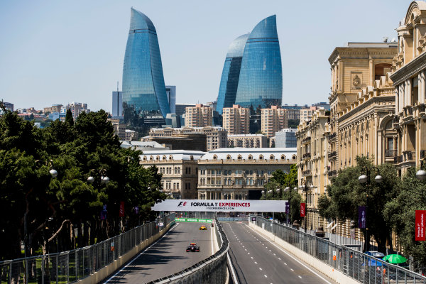 2017 FIA Formula 2 Round 4. Baku City Circuit, Baku, Azerbaijan. Friday 23 June 2017. Johnny Cecotto Jr. (VEN, Rapax)  Photo: Zak Mauger/FIA Formula 2. ref: Digital Image _56I6690