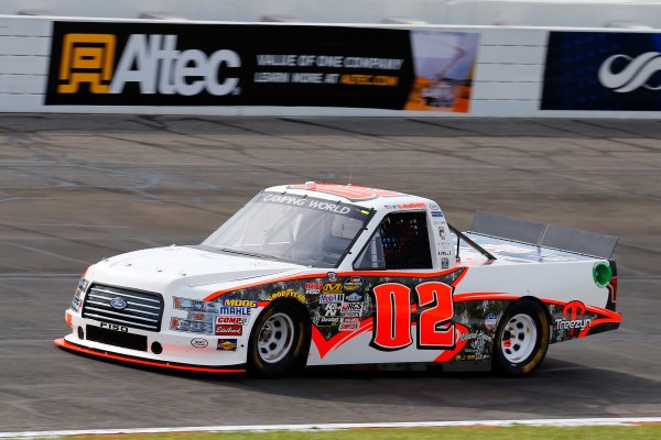 NASCAR Camping World Truck Series Drivin? For Linemen 200 Gateway Motorsports Park, Madison, IL USA Saturday 17 June 2017 Austin Hill, Ford F150 World Copyright: Russell LaBounty LAT Images