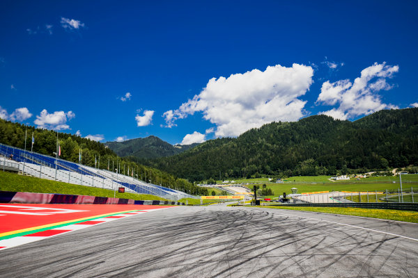 2017 GP3 Series Round 2.  Red Bull Ring, Spielberg, Austria. Thursday 6 July 2017. A view of the track. Photo: Zak Mauger/GP3 Series Media Service. ref: Digital Image _56I0023