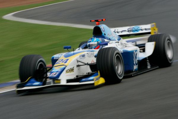 2005 GP2 Series - Great BritainSilverstone , England8th - 10th July 2005Friday QualifyingClivio Piccione (MC, Durango). Action. World Copyright: GP2 Series Media Service ref: Digital Image Only