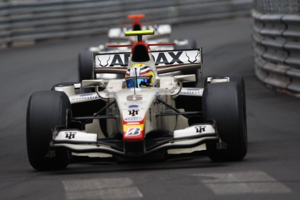 2008 GP2 Series. Round 3. Saturday Race. Monte-Carlo, Monaco. 24th May 2008.Ben Hanley (GBR, Barwa International Campos Team). Action. World Copyright: Andrew Ferraro/GP2 Series Media Service.ref:__H0Y6576 jpg