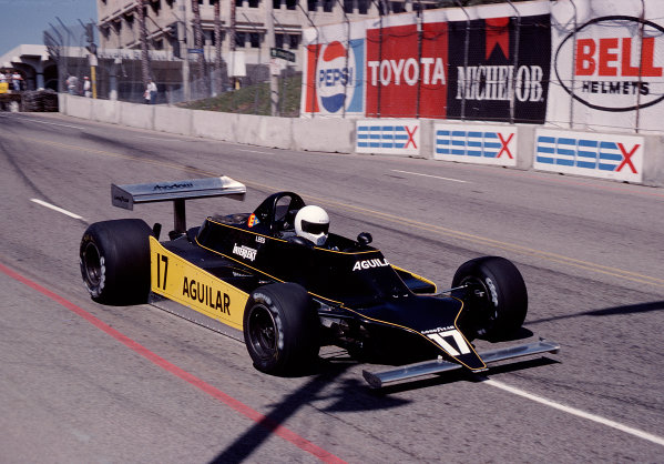 1980 United States Grand Prix West.Long Beach, California, USA.28-30 March 1980.Geoff Lees (Shadow DN11 Ford).Ref-80 LB 32.World Copyright - LAT Photographic