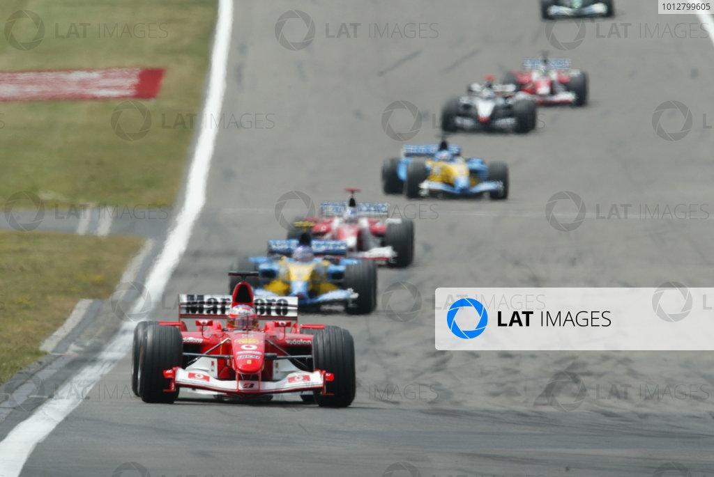 2003 European Grand Prix - Sunday Race