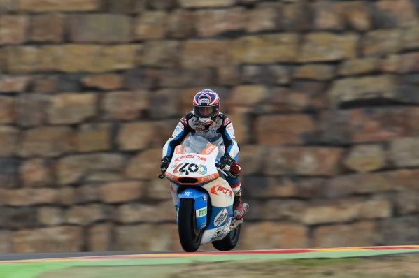 2017 Moto2 Championship - Round 14 Aragon, Spain. Friday 22 September 2017 Fabio Quartararo, Pons HP 40 World Copyright: Gold and Goose / LAT Images ref: Digital Image 693873
