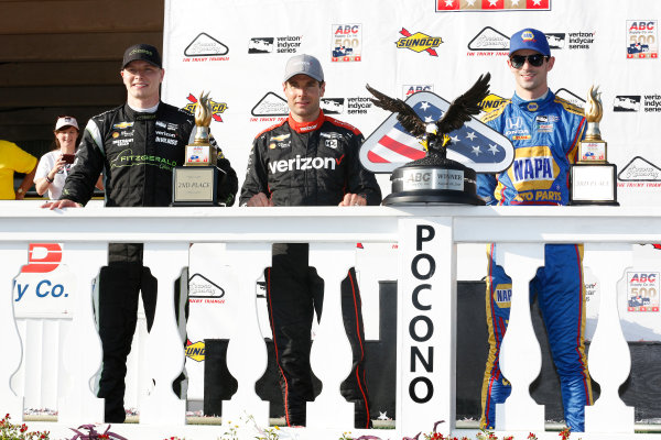 Verizon IndyCar Series ABC Supply 500 Pocono Raceway, Long Pond, PA USA Sunday 20 August 2017  World Copyright: Phillip Abbott LAT Images ref: Digital Image abbott_pocono_0817_8064