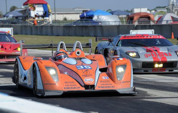 14-19 March 2011. Sebring, Florida USA#35 Oak Racing Oak Pescarolo Judd©2011 Dan R. Boyd LAT Photo USA