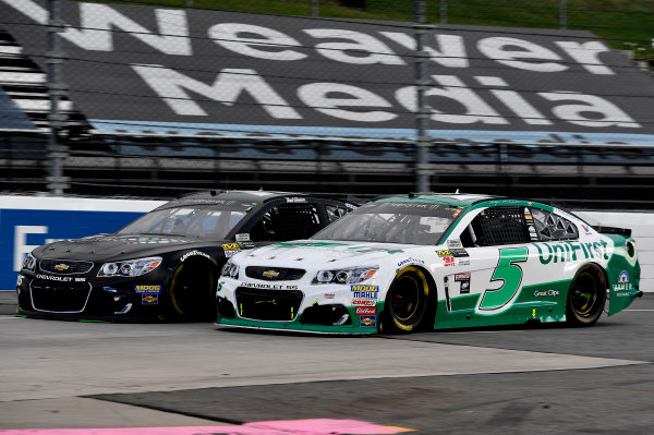Monster Energy NASCAR Cup Series First Data 500 Martinsville Speedway, Martinsville VA USA Sunday 29 October 2017 Kasey Kahne, Hendrick Motorsports, UniFirst Chevrolet SS World Copyright: Rusty Jarrett LAT Images