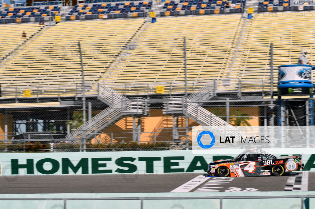 NASCAR Camping World Truck Series Ford EcoBoost 200 Homestead-Miami Speedway, Homestead, FL USA Friday 17 November 2017 Christopher Bell, JBL Toyota Tundra World Copyright: Nigel Kinrade LAT Images