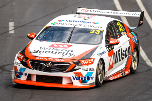 2018 Supercars Championship Adelaide 500, Adelaide, South Australia, Australia Friday 2 March 2018  #33 Garth Tander (Aust) Wilson Security Racing  World Copyright: Dirk Klynsmith / LAT Images ref: Digital Image 2018VASC01-03236