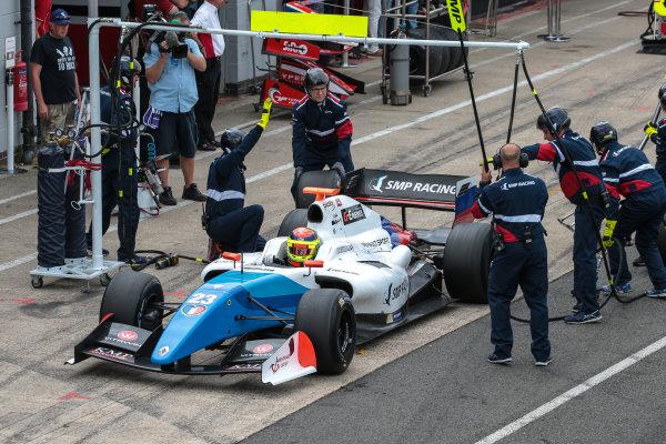 SILVERSTONE (GBR) JUL 22-24 2016 - International GT Open and Formula V8 3.5 round at Silverstone Circuit. Matthieu Vaxiviere #23 SMP Racing. Action. © 2016 Diederik van der Laan  / Dutch Photo Agency / LAT Photographic