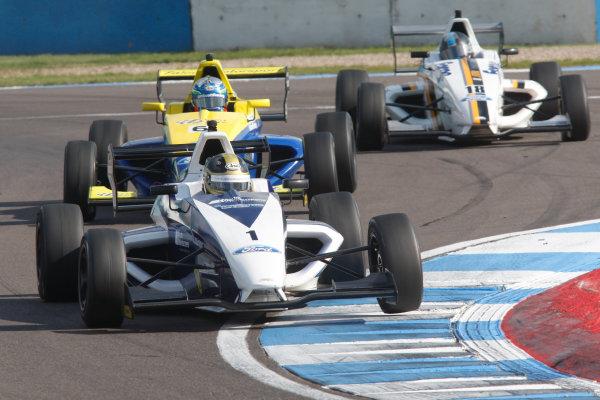 2014 British Formula Ford Championship,Donington Park, 19th-20th April 2014.Sam Brabham (GBR) JTR MygaleWorld copyright. Jakob Ebrey/LAT Photographic