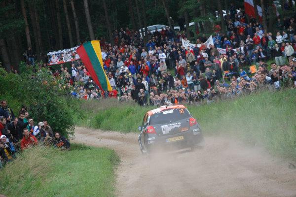 Round 8Rally Poland 200925th - 28th June 2009Kevin Abbring, Renault, JWRC, ActionWorldwide Copyright: McKlein/LAT