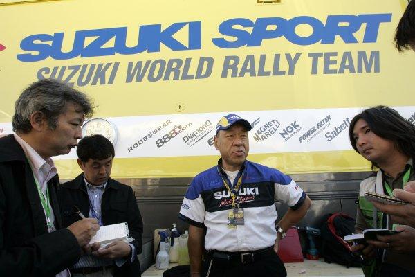 2007 FIA World Rally ChampionshipRound 13Rally of France, Tour de Course 200711-14 October 2007Nobuhiro Tajima, WRC Suzuki, PortraitWorldwide Copyright: McKlein/LAT