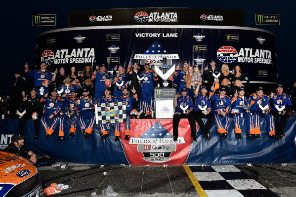 2017 Monster Energy NASCAR Cup Series - Fold of Honor QuikTrip 500 Atlanta Motor Speedway, Hampton, GA USA Sunday 5 March 2017 Brad Keselowski World Copyright: Rusty Jarrett/LAT Images ref: Digital Image 17ATL1rj_2869