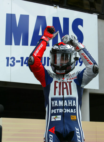 Le Mans, France. 16th - 17th May 2009.Jorge Lorenzo Fiat Yamaha Team.World Copyright: Martin Heath/LAT Photographicref: BPI_Moto 8a5q