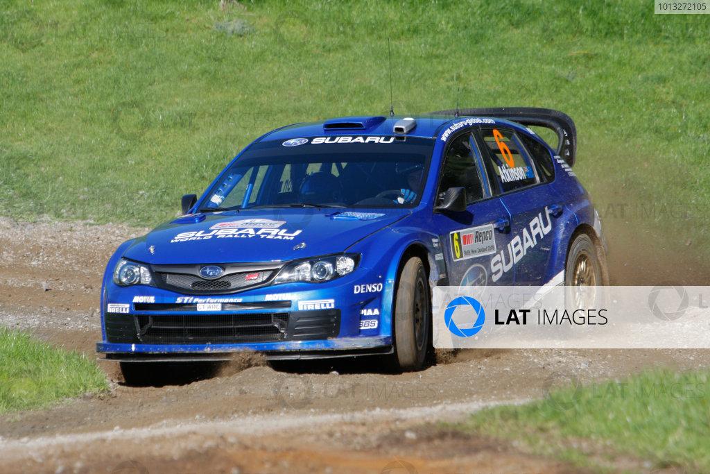 Rally New Zealand, 28th - 31st  August   2008World Copyright: McKlein/LATChris Atkinson, Subaru, action