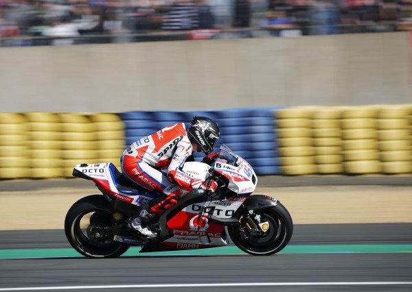 2016 MotoGP Championship.  French Grand Prix.  Le Mans, France. 6th - 8th May 2016.  Scott Redding, Pramac Ducati.  Ref: _W5_2524a. World copyright: Kevin Wood/LAT Photographic